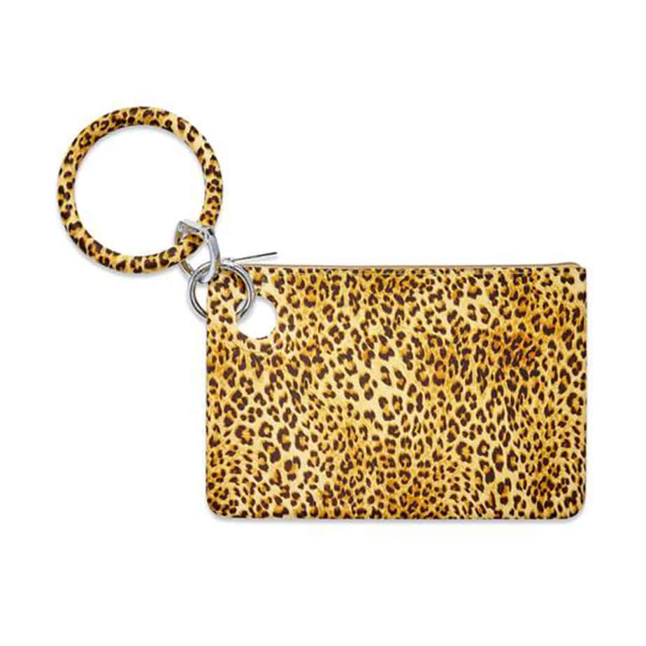 O Venture Silicone Pouch In Cheetah 70384