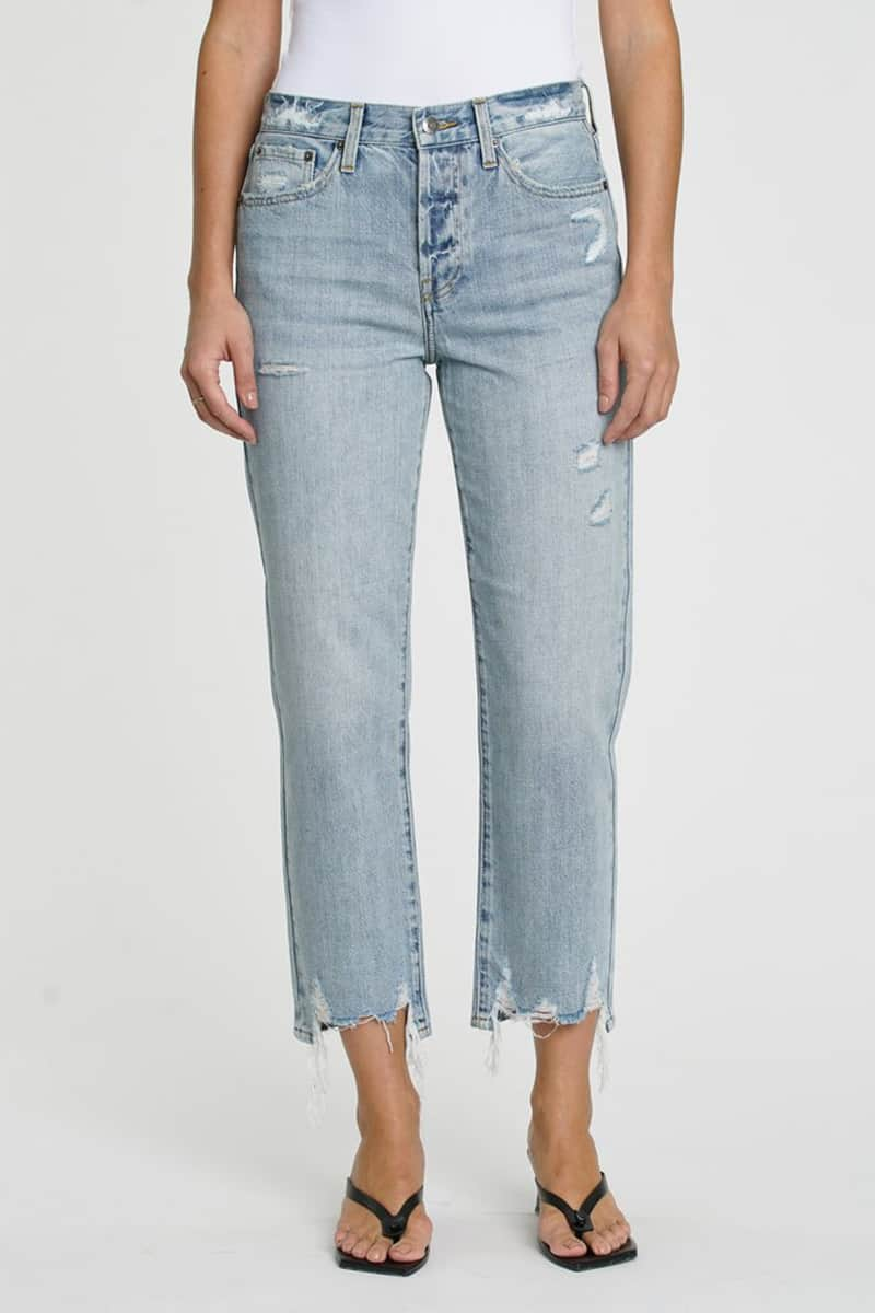 Pistola Charlie Straight Hi Rise Jean In Ruthless 80695