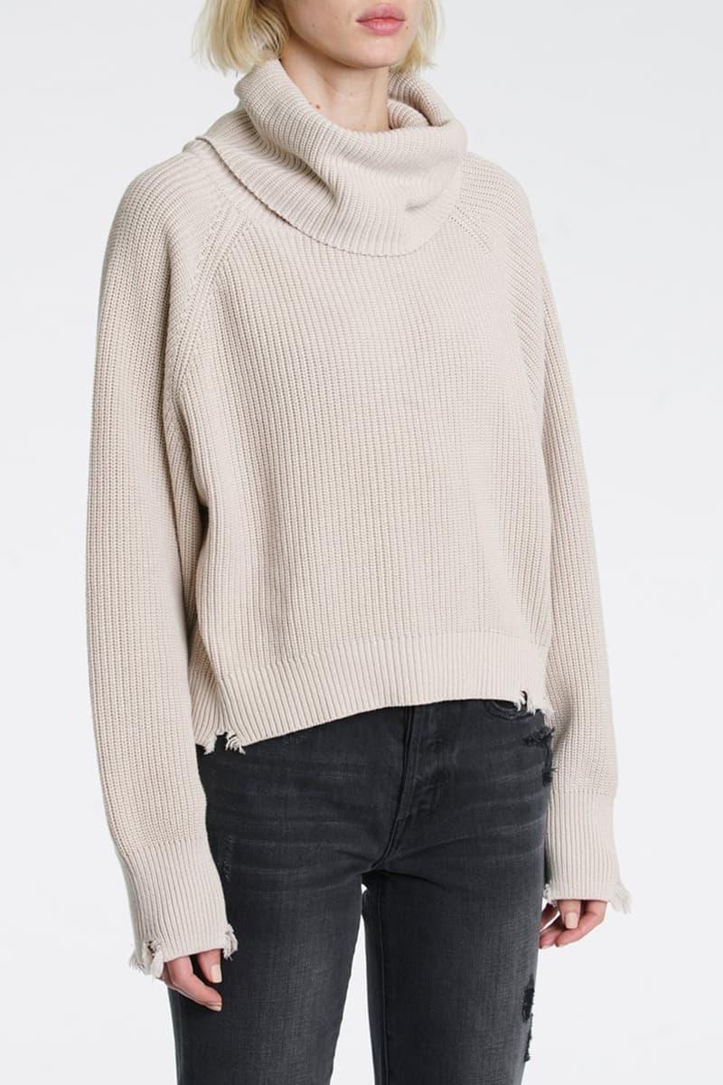 Pistola Hadley Turtleneck In Dove 76182