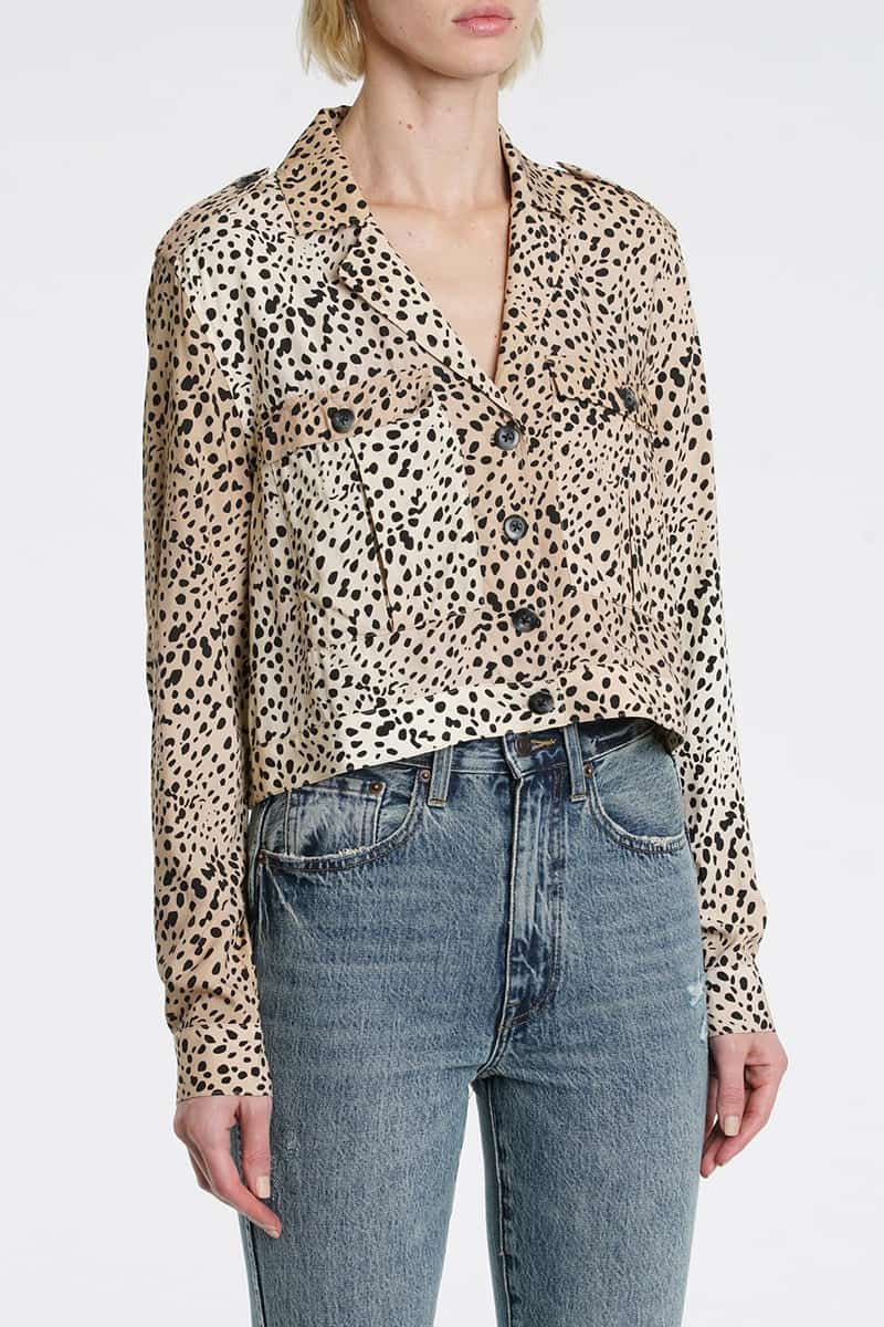 Pistola Kaine Shirt Jacket In Wildspots 71789