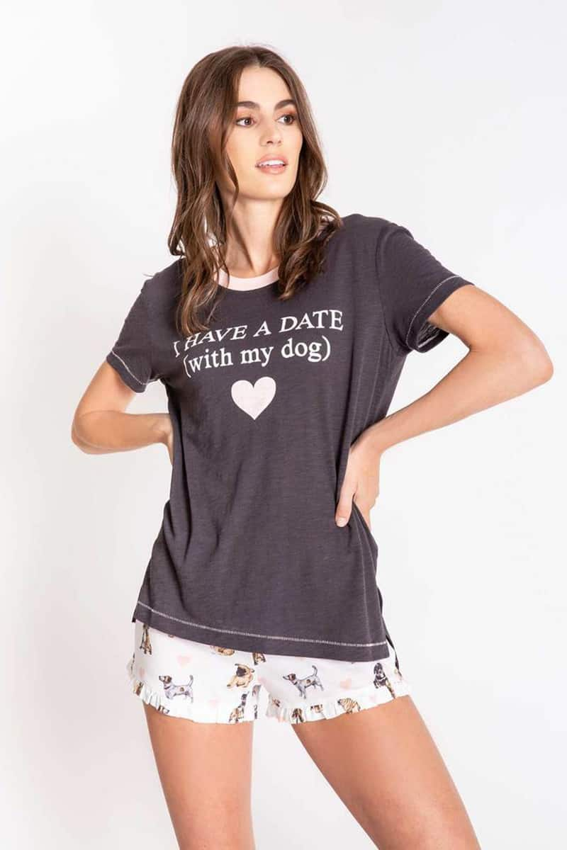Pj Salvage Give Love Ss Tee 52194