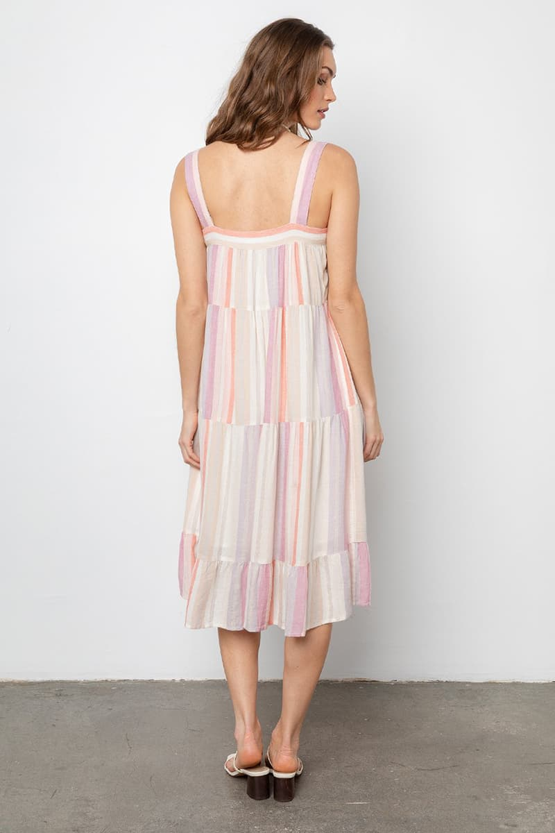 Rails Amaya Dress In Juliette Stripe 65691