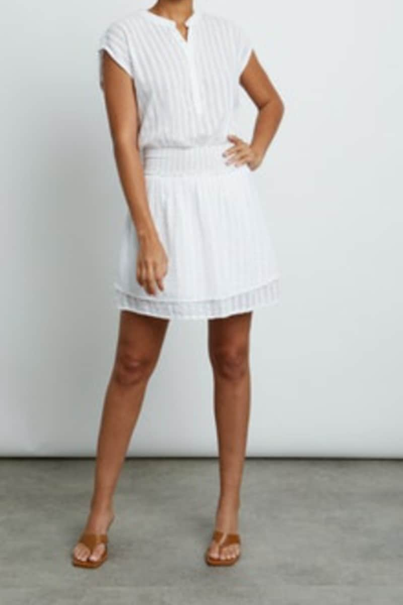 rails angelina white shadow stripe dress 83022