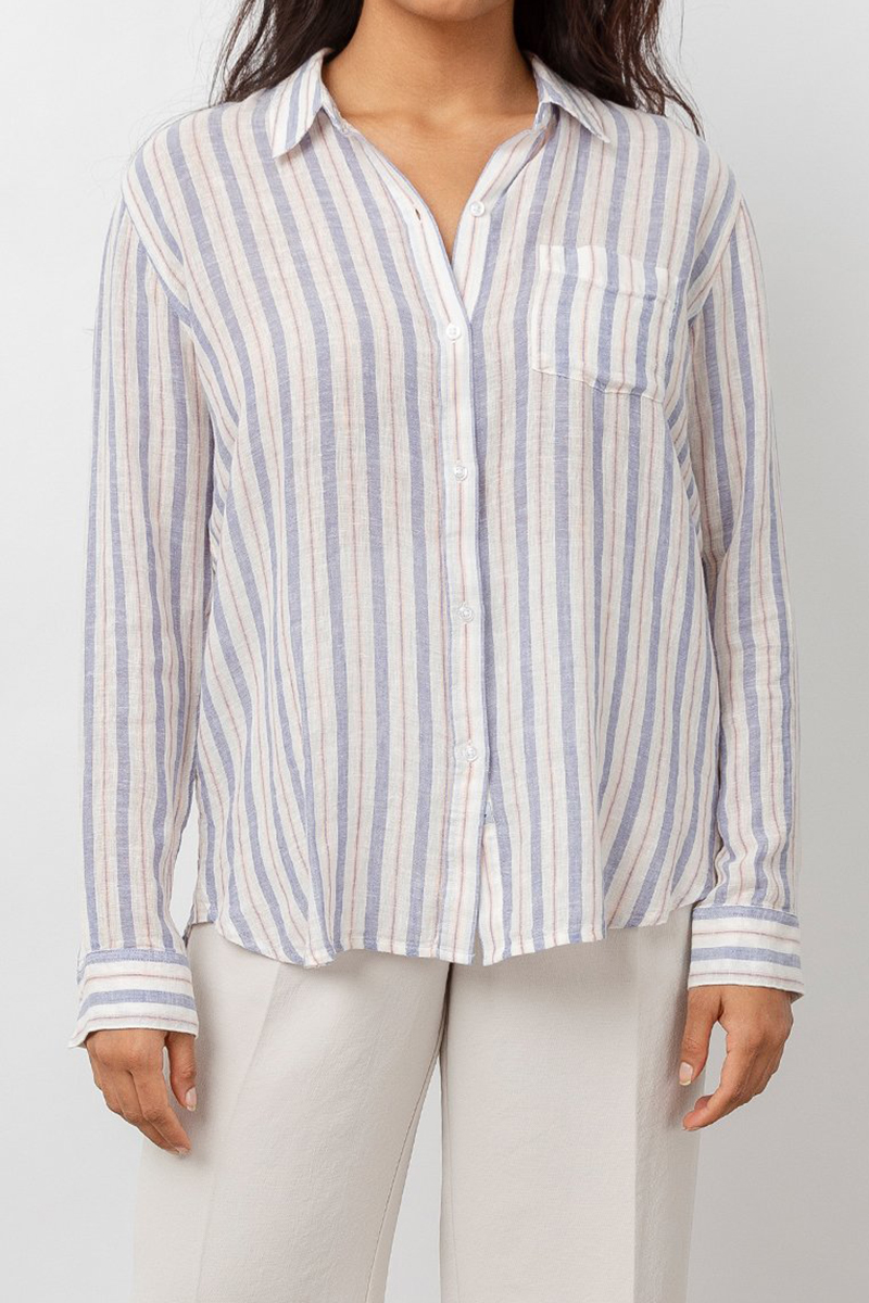 rails charli blouse in bacara stripe 83014