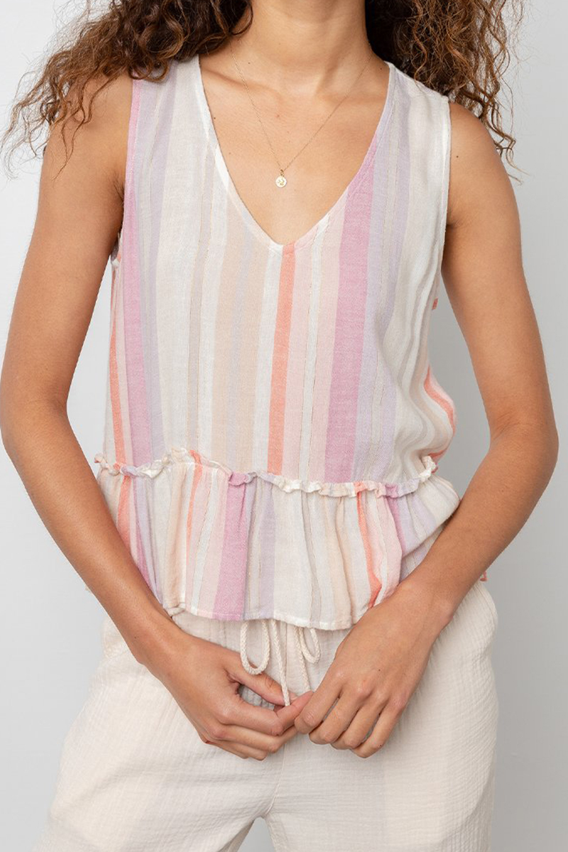 Rails Mira Top In Juliette Stripe 65680