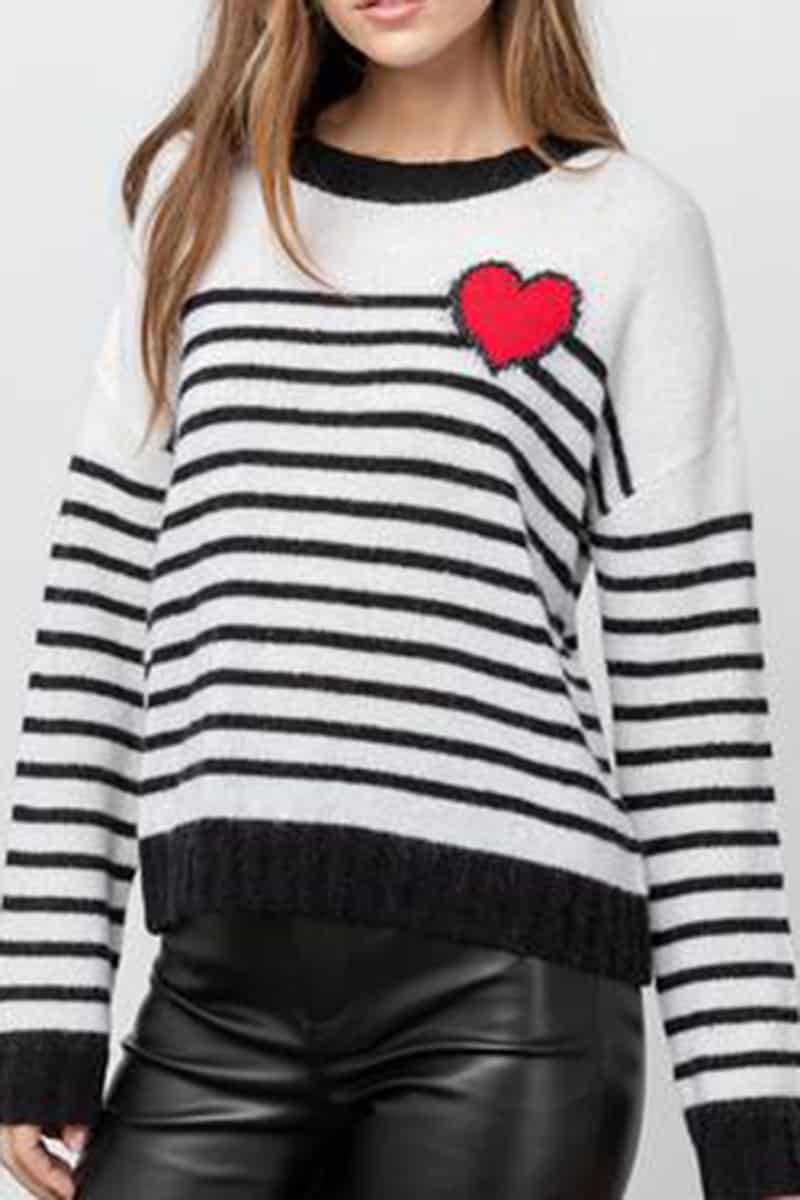 Rails Perci Hearet Sweater 58547
