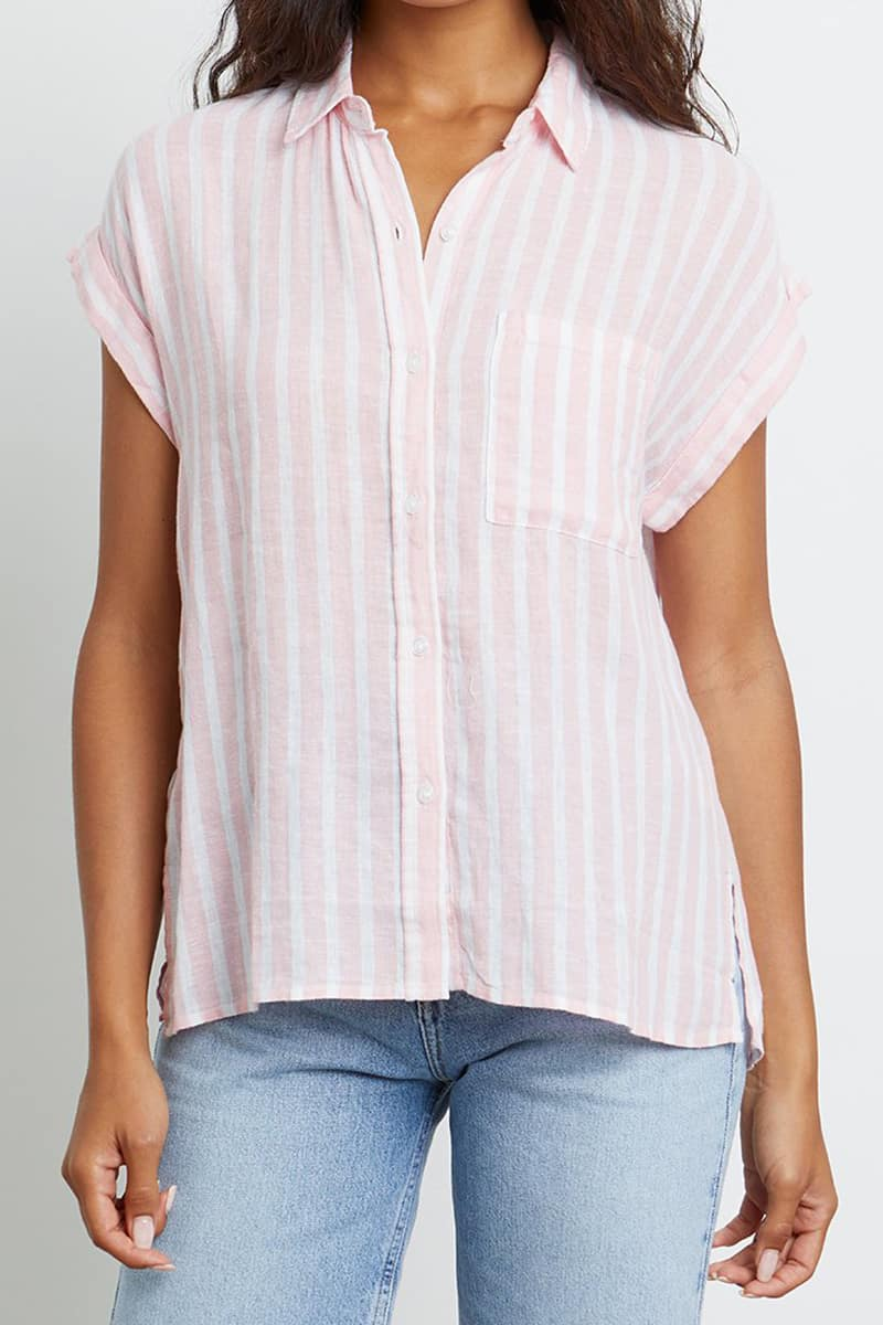 rails whitney amaranthe stripe shirt 84345