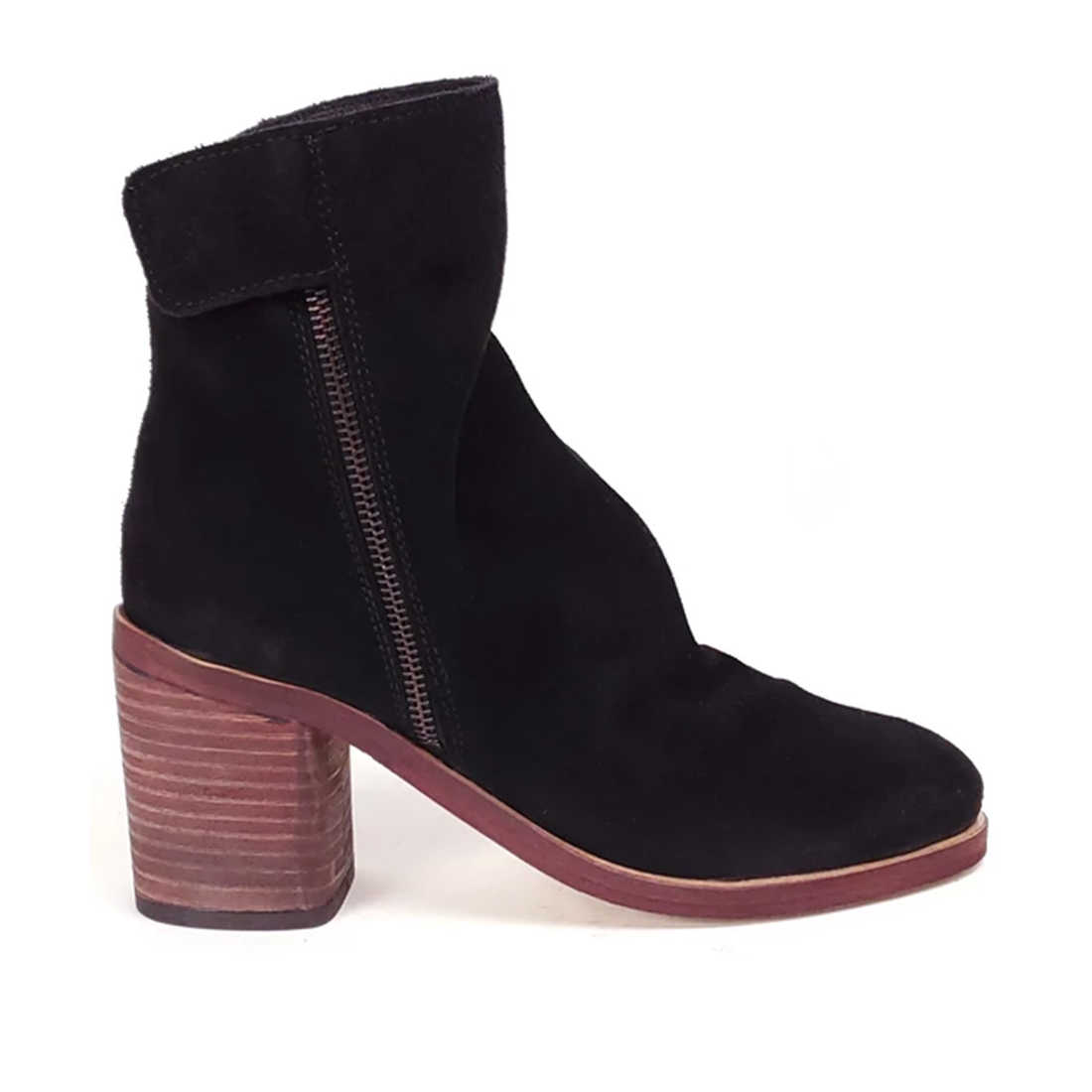 Rebel Jana Bootie In Black 74945