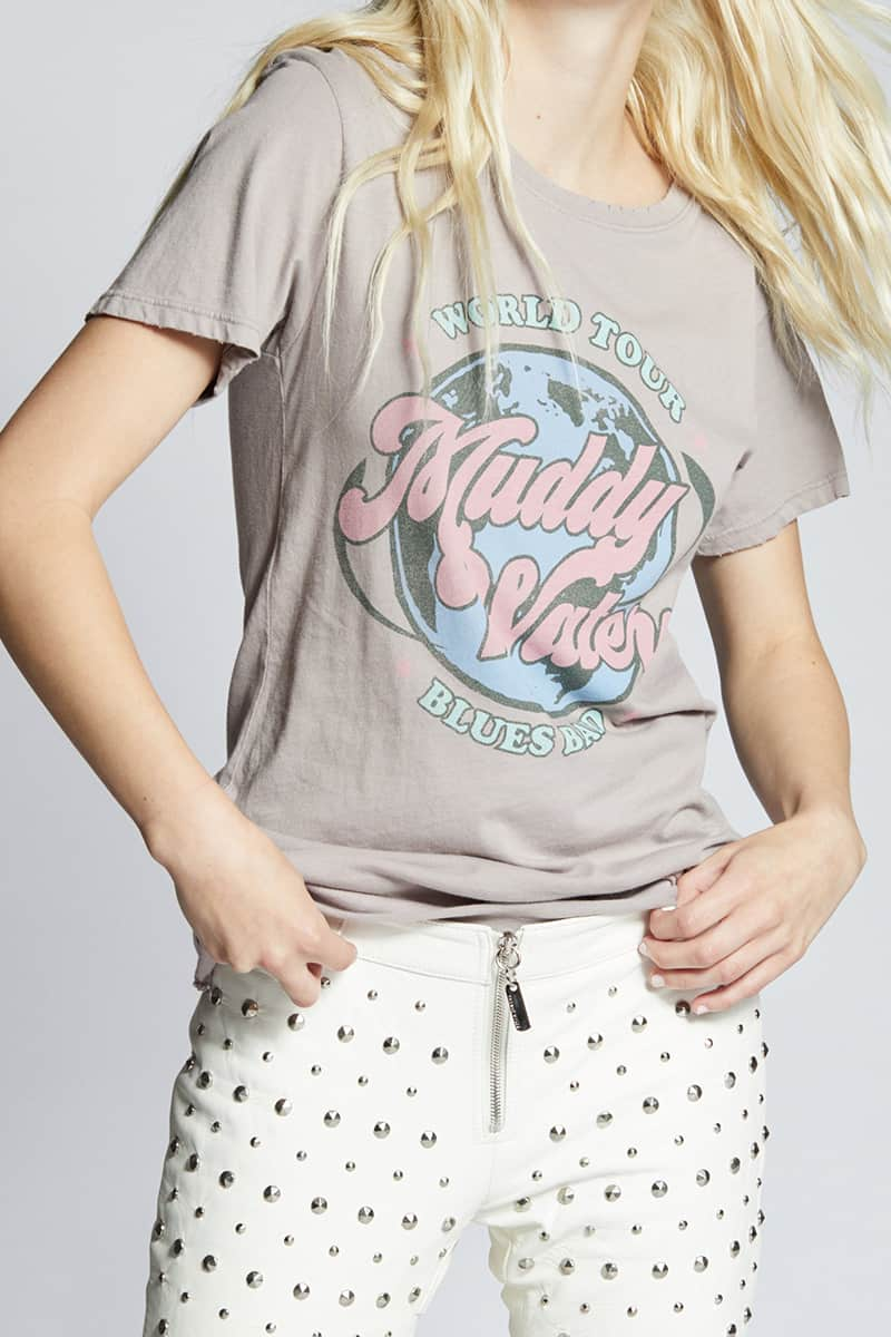 Recycled Karma Muddy Waters Blues Band Tee 74605