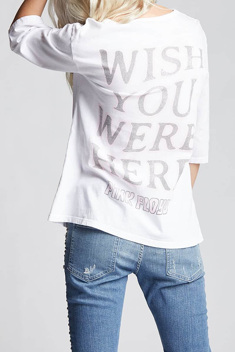 Recycled Karma Pink Floyd Wish You Were Here In White 81194
