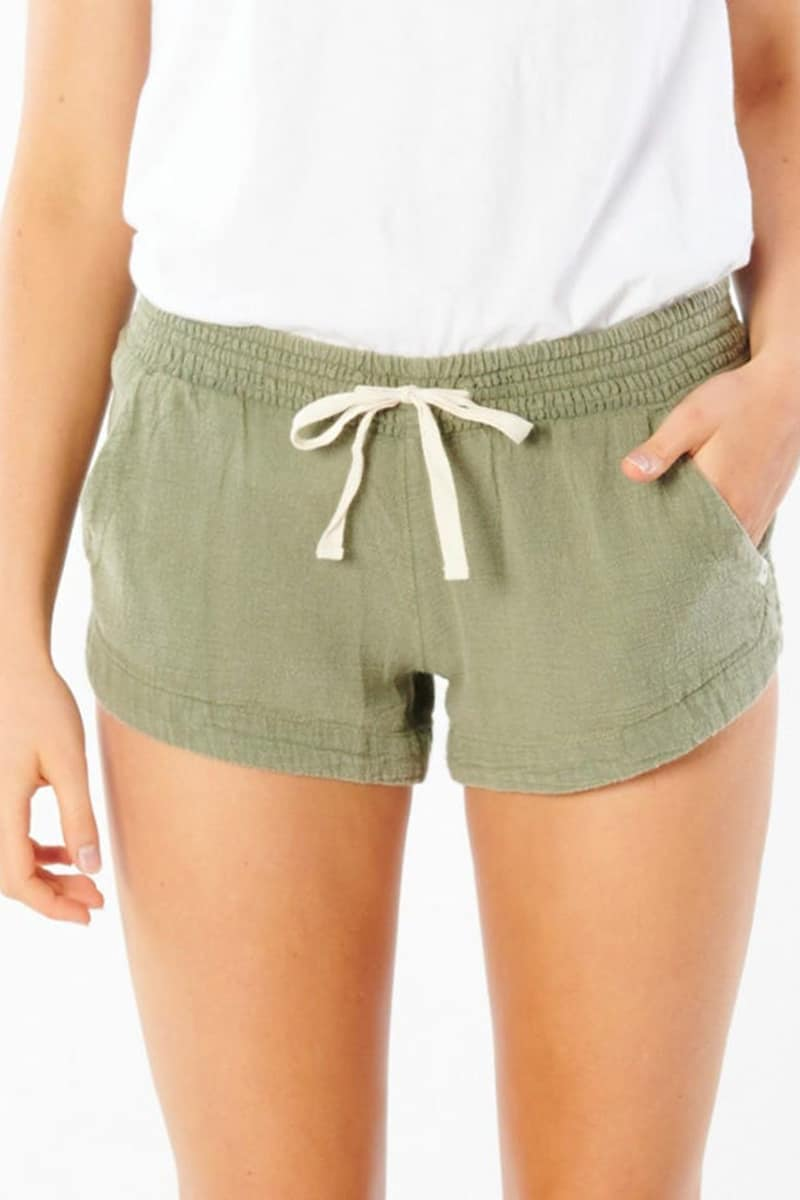 rip curl 100 cotton classic surf short in vetiver 88533