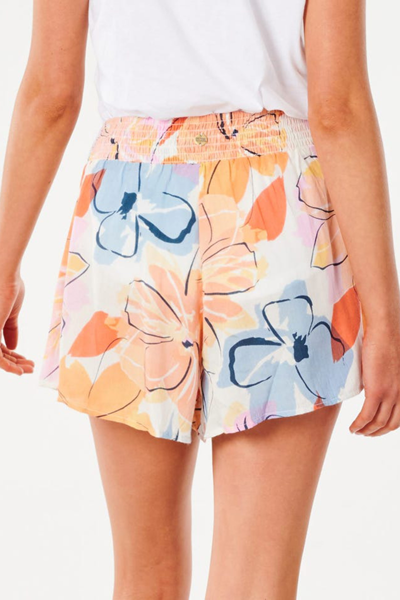 rip curl bloom short in white 88827