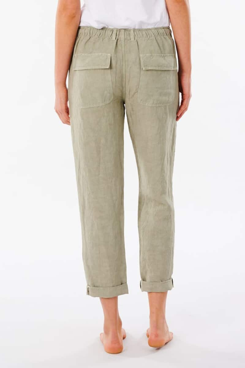 rip curl panoma pant in stone green 83211