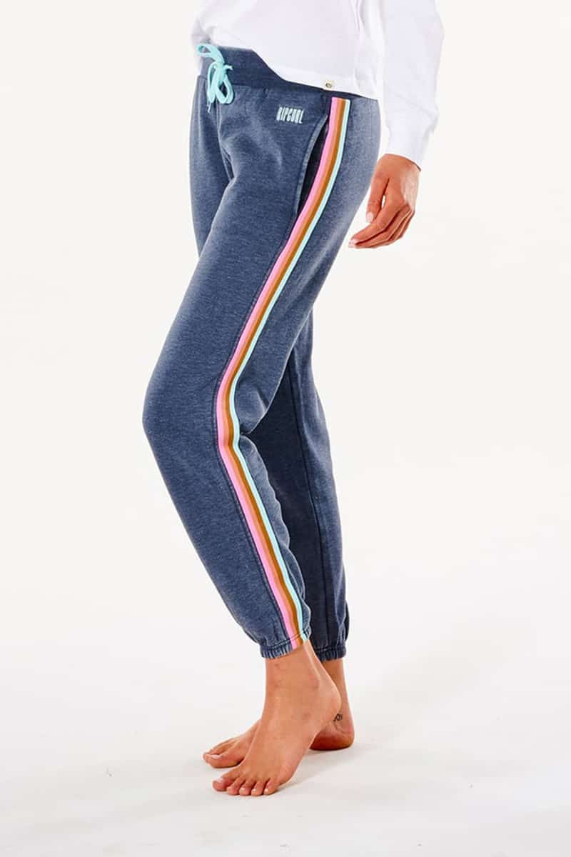 rip curl rivival track pant in navy 90434