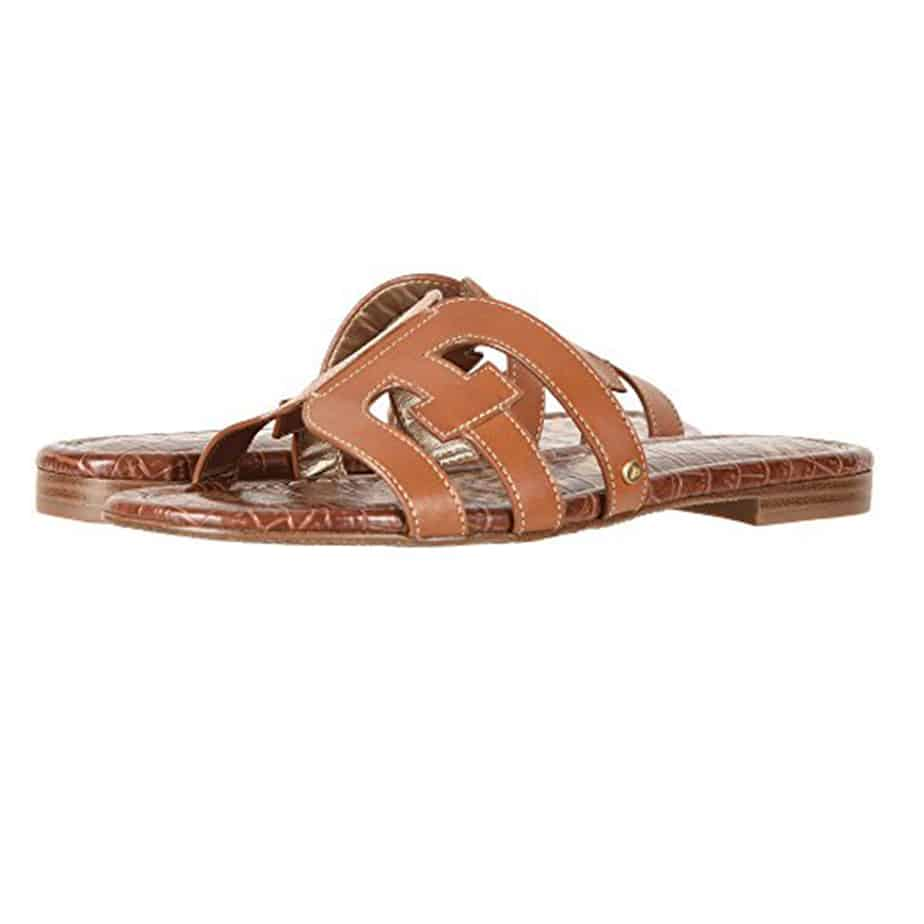 8c5da1533053d Sam Edelman Bay Sandal in Saddal • Cotton Island Women s Clothing ...