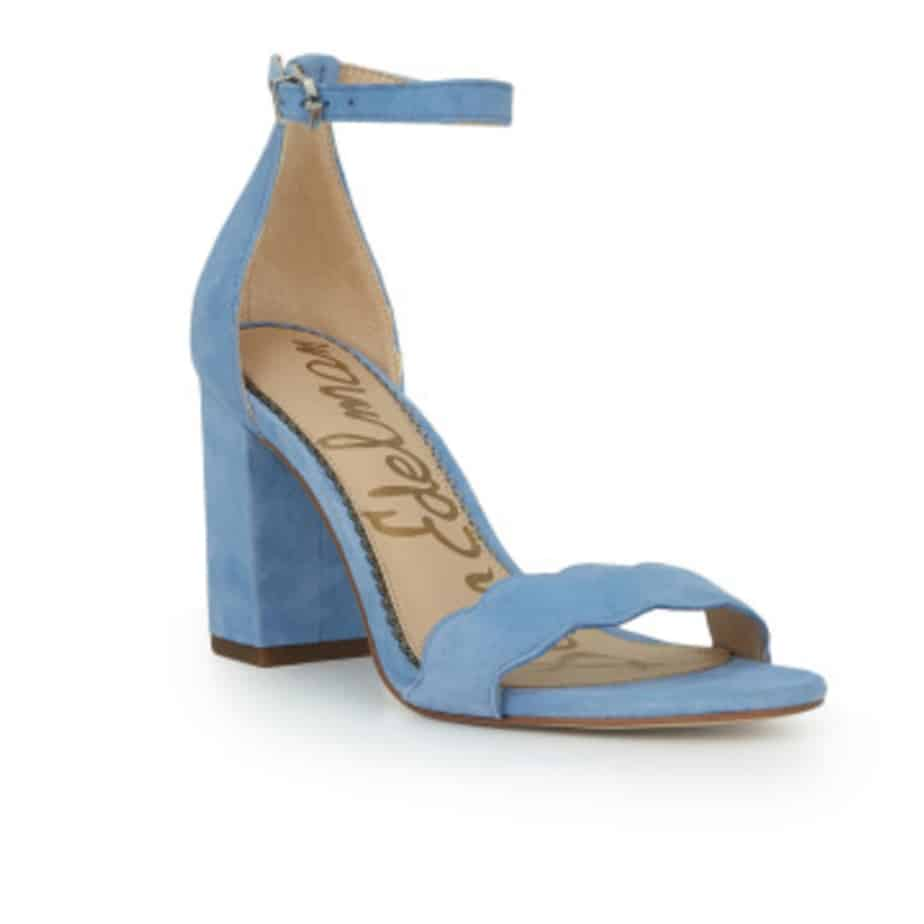 44743063e18 Sam Edelman Odila Suede Heel in Powder Blue • Cotton Island Women s ...