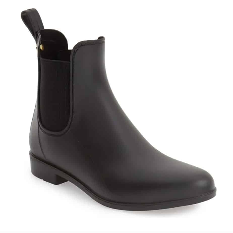 Sam Edelman Tinsley Rainboot In Matte Black 73392
