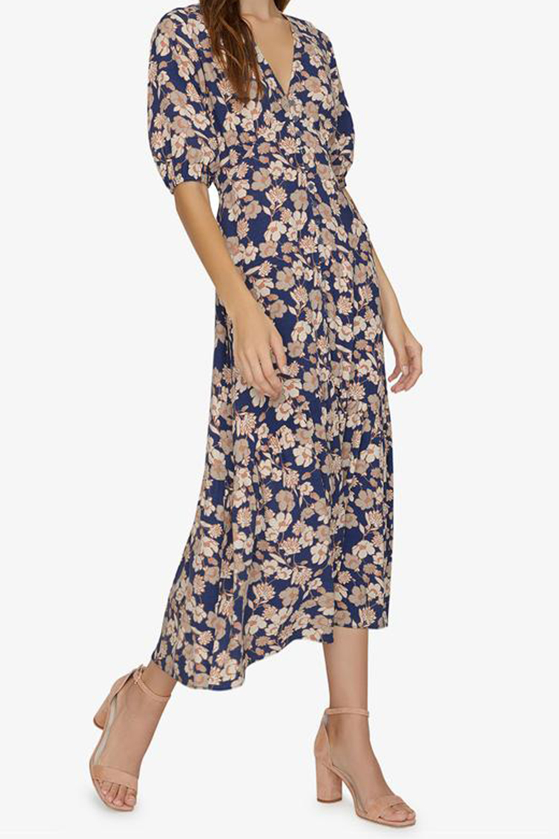Sanctuary Florence Maxi In Stencil Floral 62402
