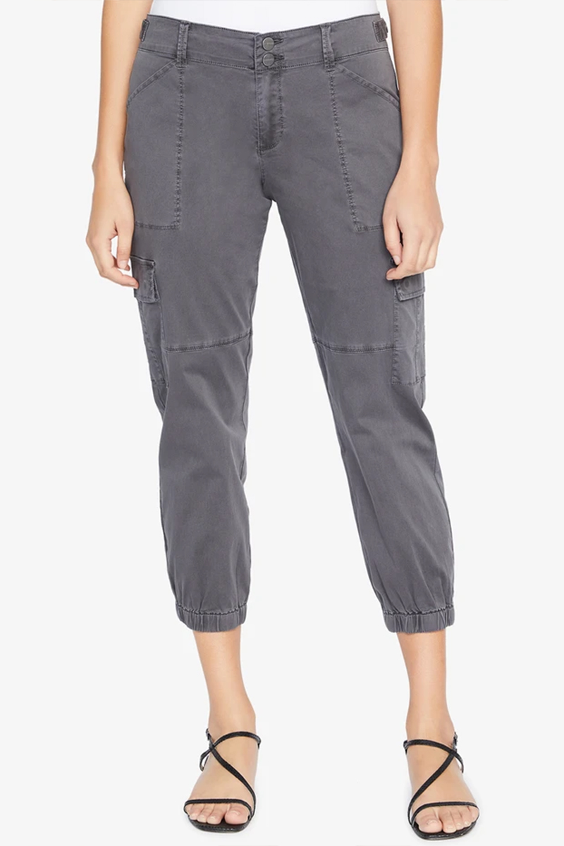 Sanctuary Pant In Washed Black 61612