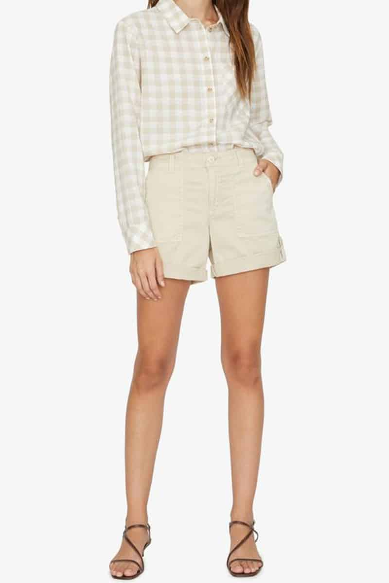 Sanctuary Squad Short In Modern Beige 62398