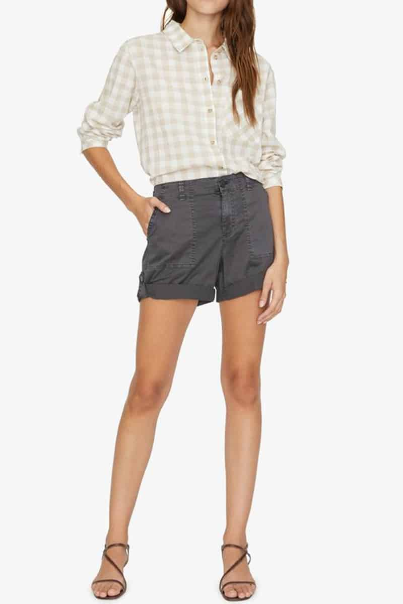 Sanctuary Squad Short In Washed Black 62399