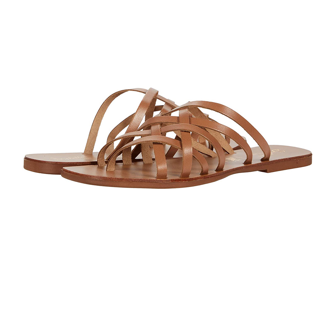 seychelles nice try leather sandal in tan 85204