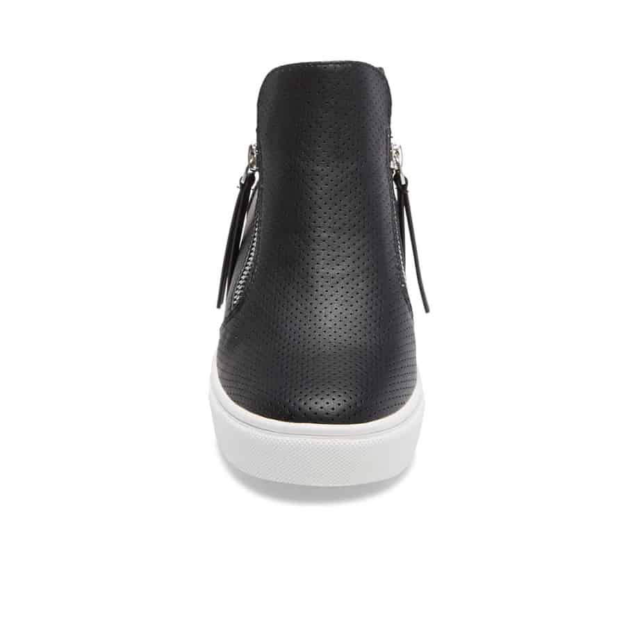 Steve Madden Caliber Hi Top Sneaker In Black 60143