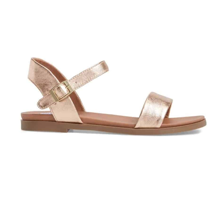 1ab18589cb0 Steve Madden Dina Rose Gold Sandal • Cotton Island Women s Clothing ...