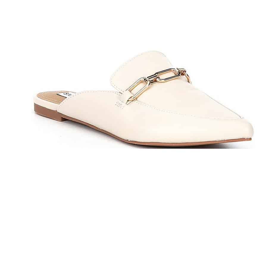 Steve Madden Faraway Mule In Bone Leather 81040