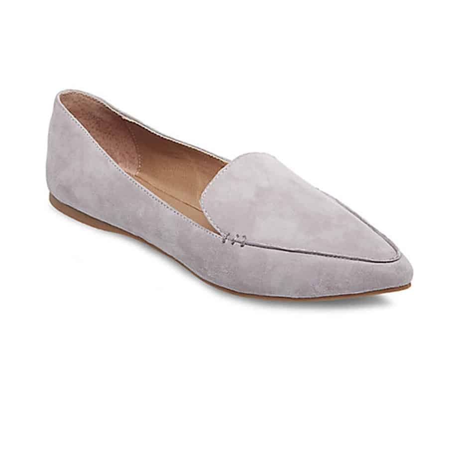 08db894a9d1 Steve Madden Feather Loafer in Grey • Cotton Island Women s Clothing ...