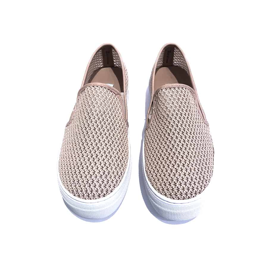 3a29d4f4e837 Steve Madden Gills Mesh Slip On Sneakers in Blush • Cotton Island ...