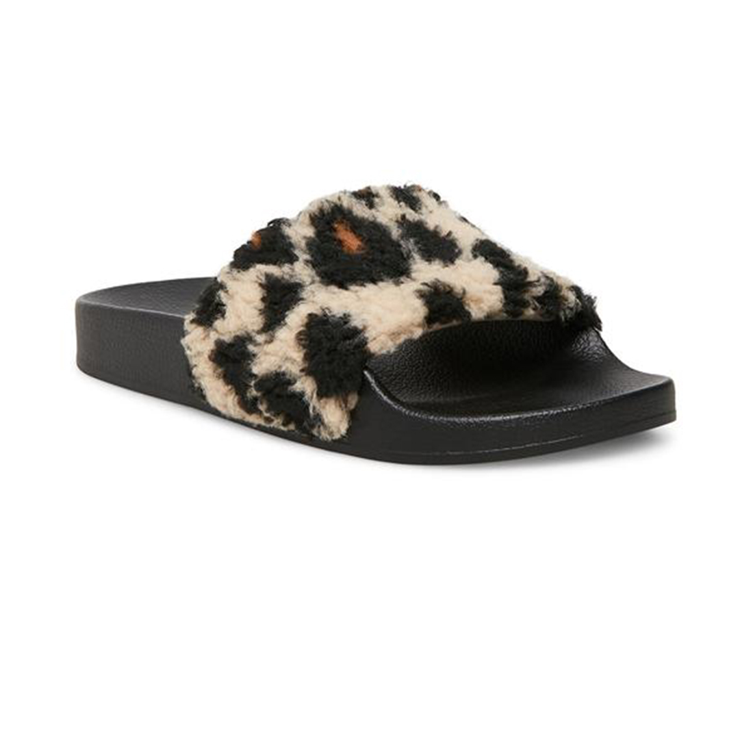 Steve Madden Shear Slipper In Leopard 75256