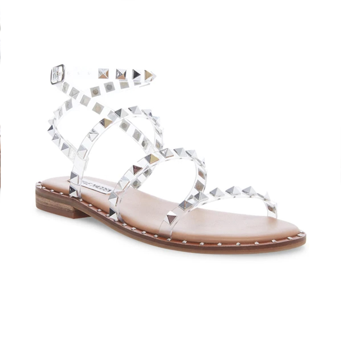 Steve Madden Travel Clear Sandal 62873