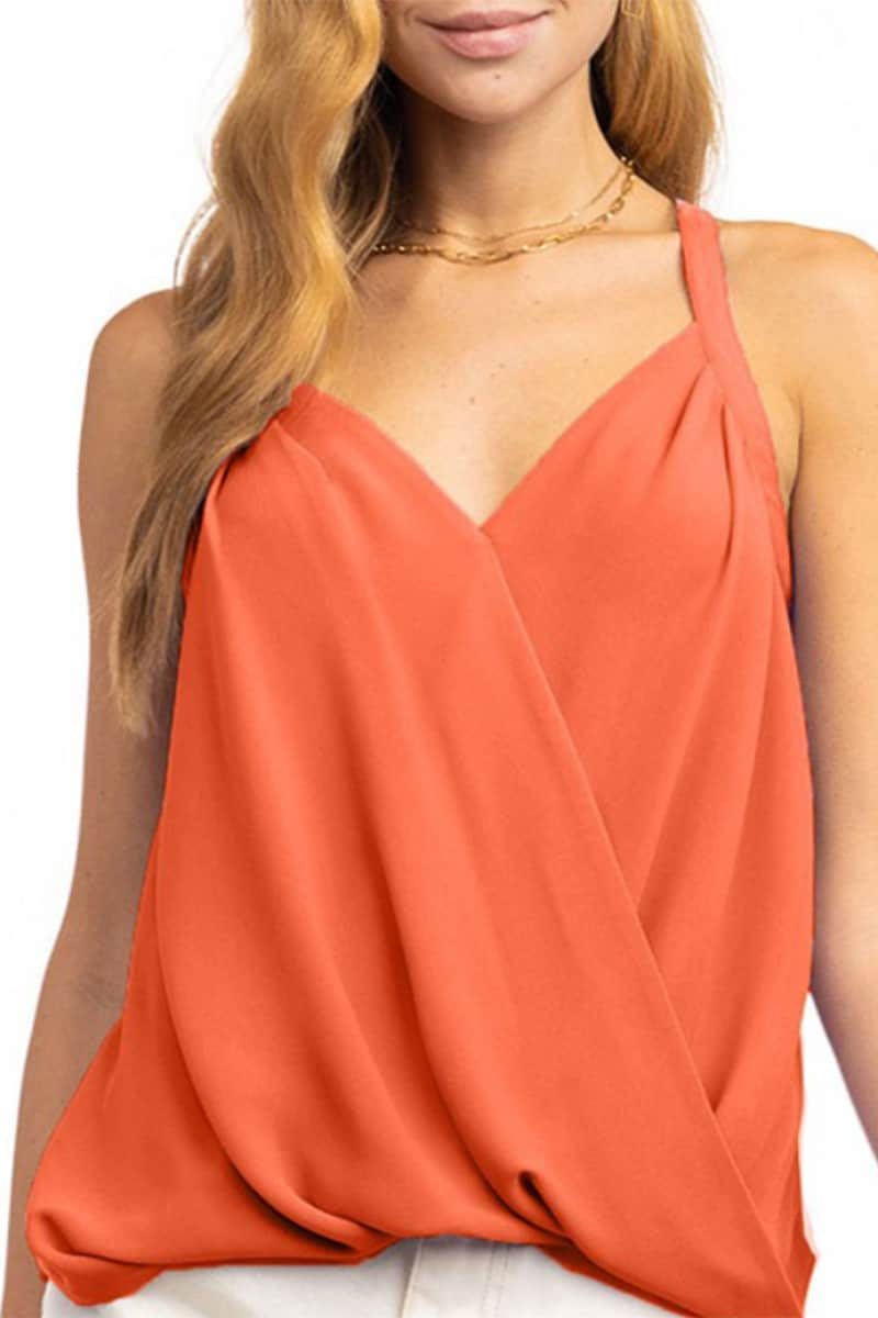 suplice tank top in maple 88910