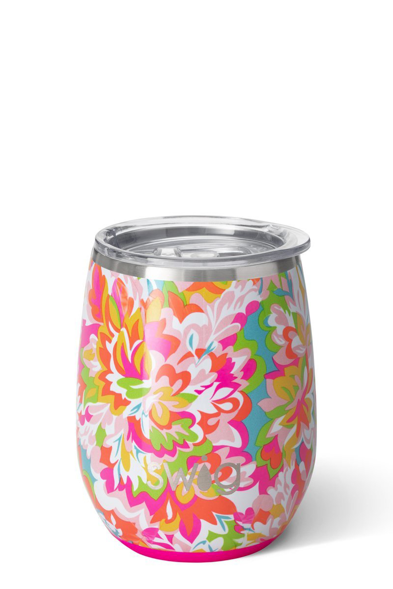 swig life 14oz stemless cup in hawaiian punch 90034