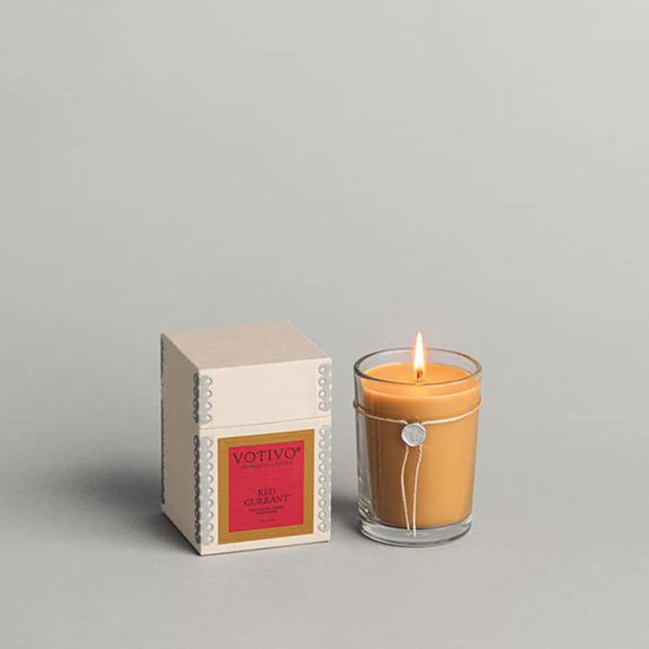 votivo red current 6 8oz candle 89522