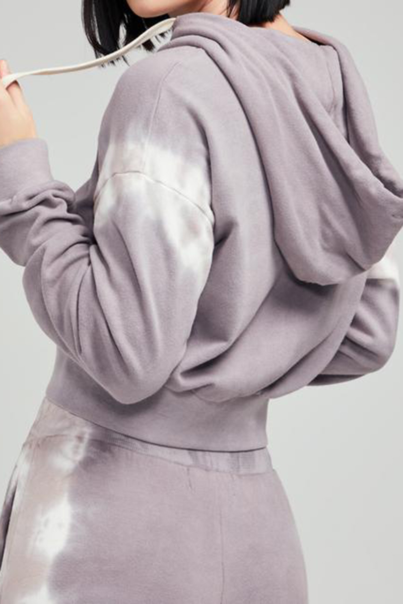wildfox 100 cotton the greys party crop hoodie 95716