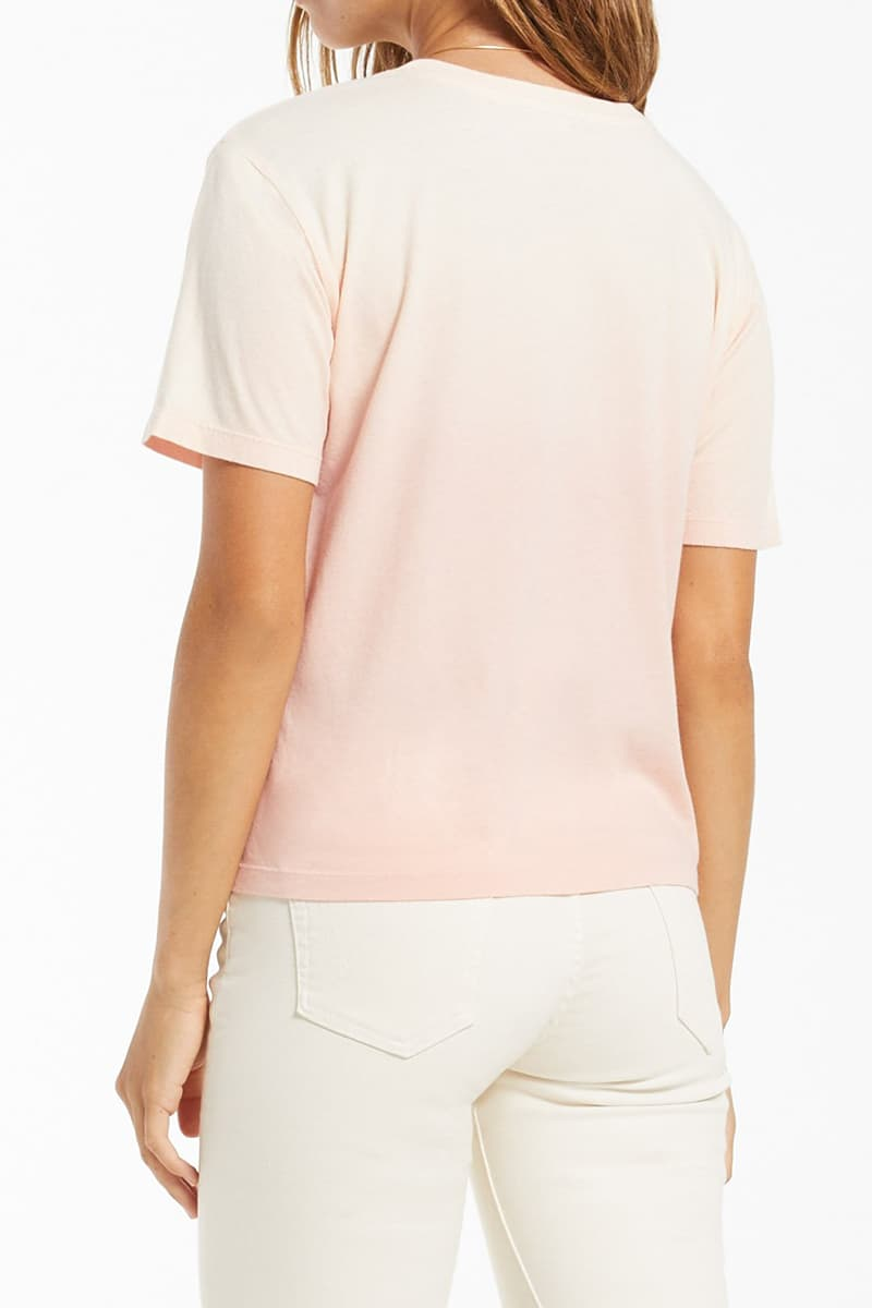 z supply 100 cotton sol ombre rose pearl tee 84747