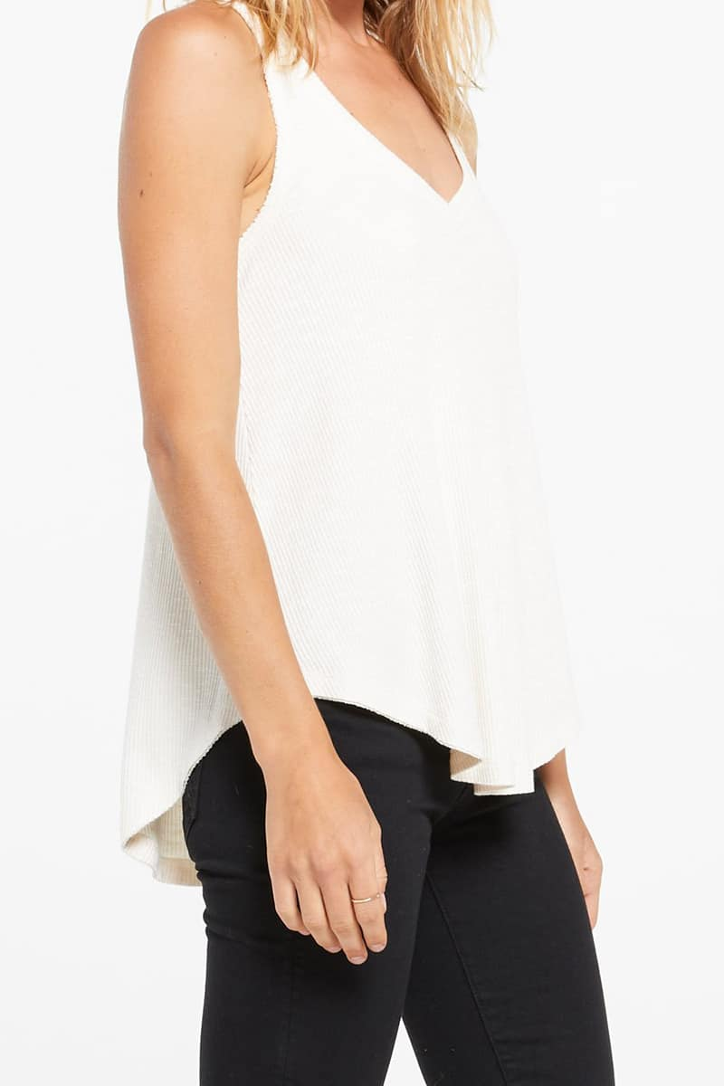 Z Supply Hacci Vagabond Tank Top In Bone 79701