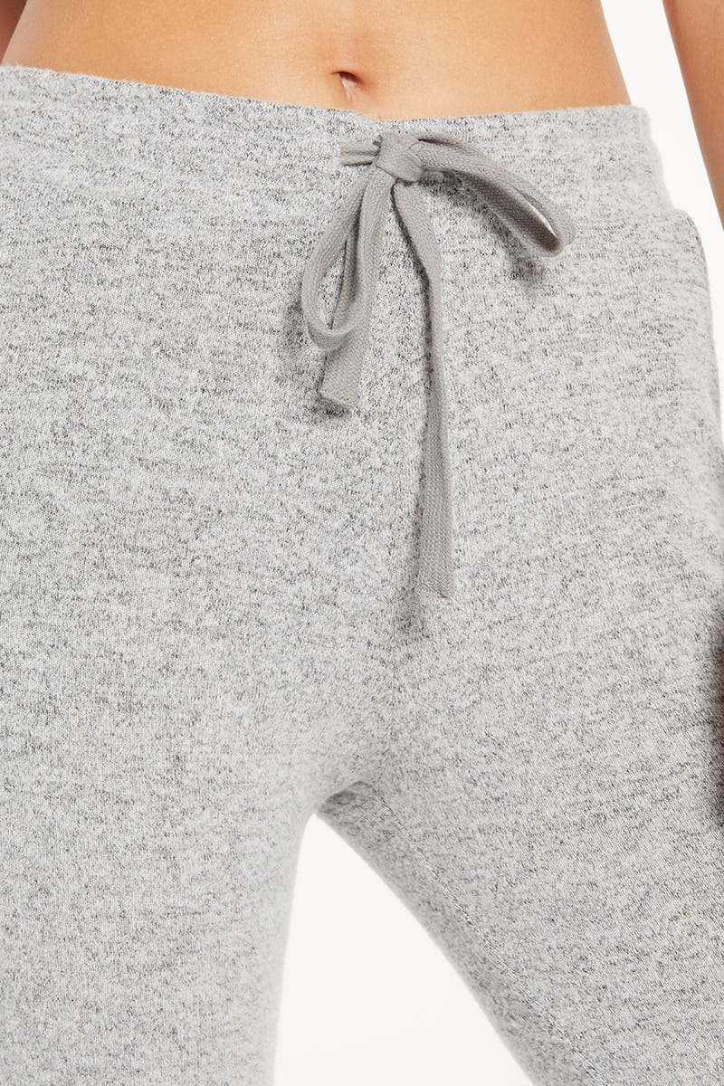 Z Supply Marled Jogger In Heather 73144
