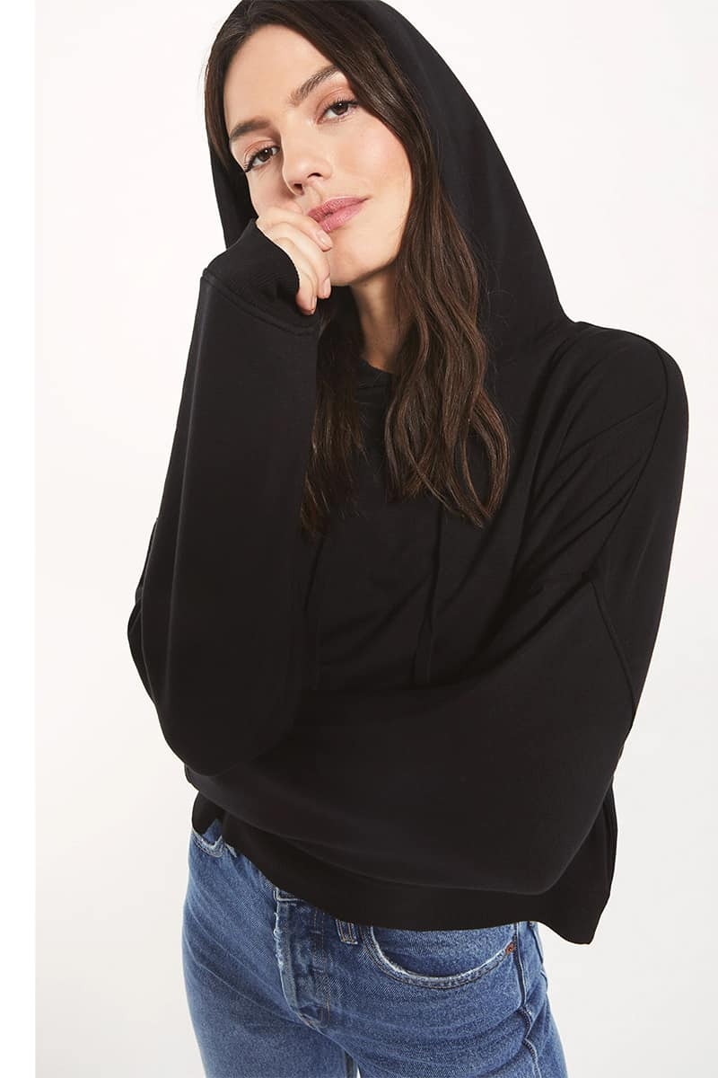 Z Supply Soho Fleece Hoodie 73067