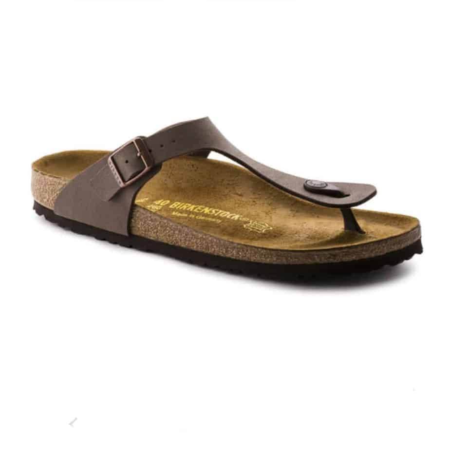birkenstock gizeh mocha birki thong sandal cotton island. Black Bedroom Furniture Sets. Home Design Ideas